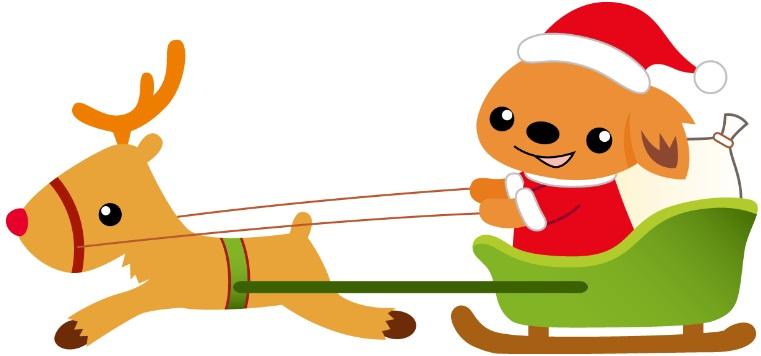 アカデミークリスマス犬